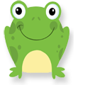 Frogs at Cheeky Cherubs